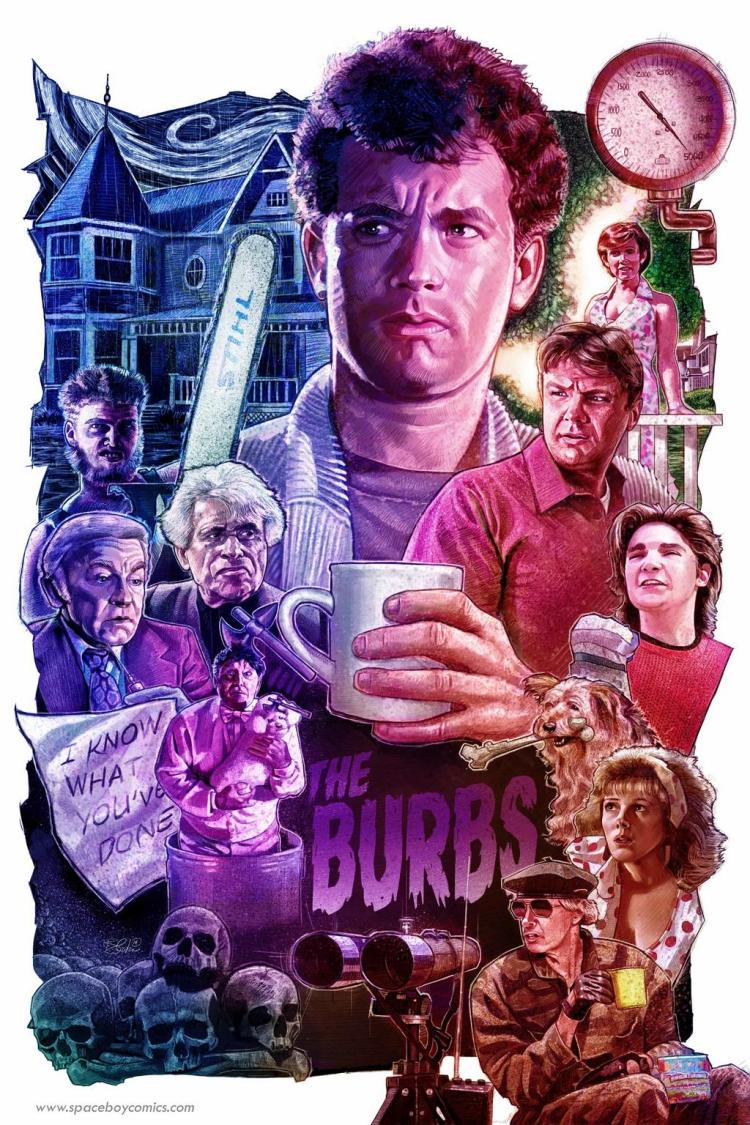 Image result for the burbs movie cover""